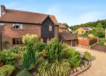 Thumbnail 4 bed detached house for sale in Penshurst Rise, Frimley, Camberley, Surrey