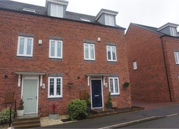 Thumbnail 3 bedroom town house for sale in Kyngston Road, West Bromwich