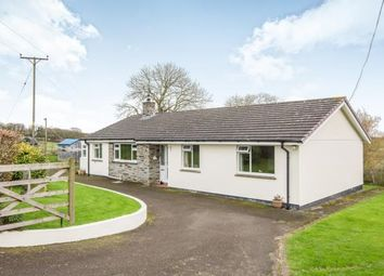 Thumbnail 3 bed bungalow for sale in Launceston, Cornwall