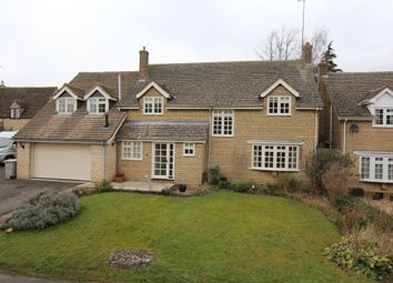 Thumbnail 5 bedroom detached house for sale in Crocket Lane, Empingham, Oakham