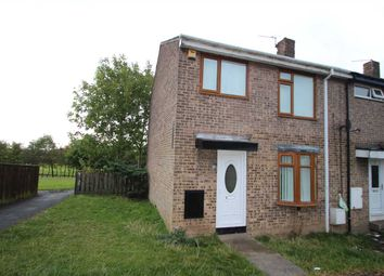 Thumbnail 3 bed end terrace house to rent in Dodds Close, Wheatley Hill, County Durham