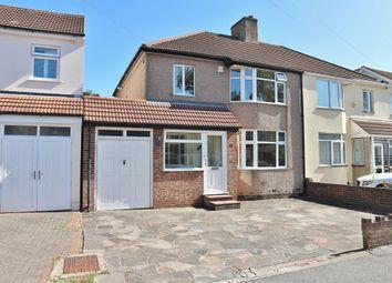Thumbnail 3 bed semi-detached house for sale in Lansdowne Avenue, Bexleyheath, Kent