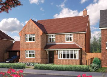 "Thumbnail 4 bed detached house for sale in ""The Inkberrow"" at Withybed Lane, Inkberrow, Worcester"