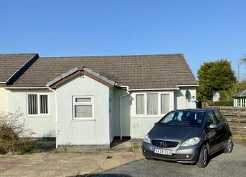Thumbnail 2 bed semi-detached bungalow for sale in Greenfield Close, Templeton, Narberth