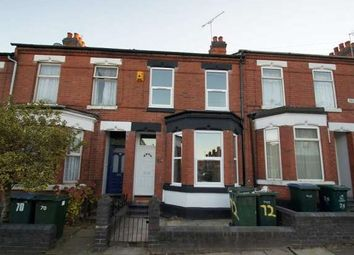 Thumbnail 4 bed terraced house to rent in Broomfield Road, Earlsdon, Coventry