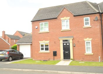 Thumbnail 3 bed semi-detached house for sale in Edgewater Place, Latchford, Warrington