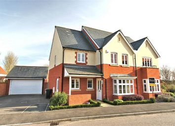 Thumbnail 4 bed detached house for sale in Elderberry Way, Almondsbury, Bristol