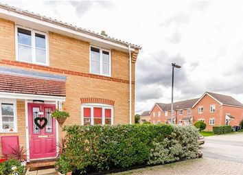 Thumbnail 3 bed semi-detached house for sale in Briars End, Witchford, Ely