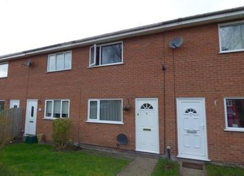 Thumbnail 2 bed terraced house for sale in Bader Court, Wrexham, Wrecsam