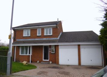 Thumbnail 4 bed detached house for sale in Beckett Close, Etherley Dene, Bishop Auckland