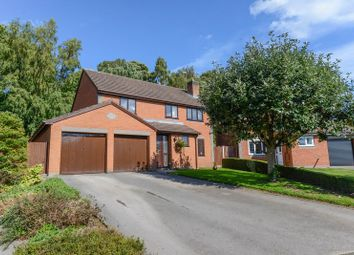 Thumbnail 4 bed detached house for sale in Thornhill Drive, Madeley, Crewe