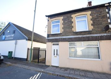 Thumbnail 4 bed end terrace house for sale in Commercial Street, Aberbargoed, Bargoed