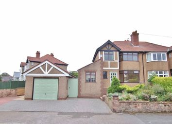 Thumbnail 4 bed semi-detached house for sale in Castle Drive, Heswall, Wirral