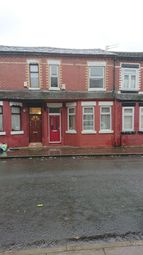 Thumbnail 3 bed terraced house to rent in Curzon Road, Salford