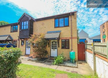 Thumbnail 2 bed terraced house to rent in Meadow Close, Hertford