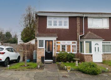 Thumbnail End terrace house for sale in Rutland Close, Dartford