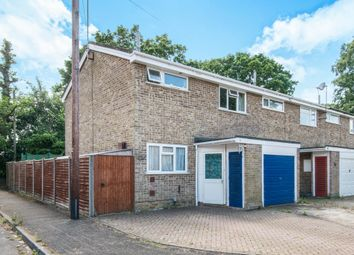 Thumbnail 3 bed end terrace house for sale in Gregory Gardens, Calmore, Southampton