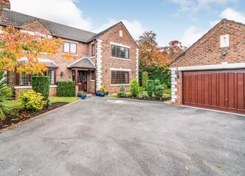 Thumbnail 4 bed detached house for sale in Sherbrooke Close, Sale, Greater Manchester