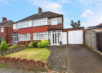 Thumbnail 3 bed semi-detached house for sale in Arnold Crescent, Isleworth