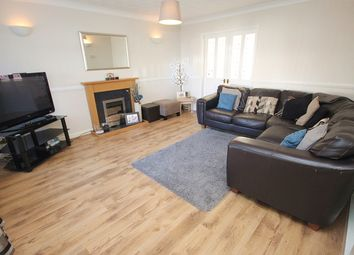 Thumbnail 4 bedroom detached house for sale in Wessex Close, Woolston, Warrington