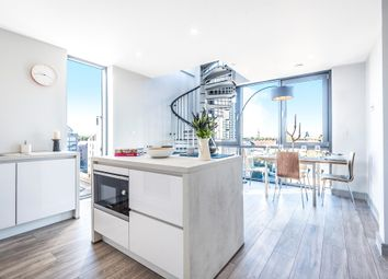 Thumbnail 2 bed flat for sale in Bethwin Road, London