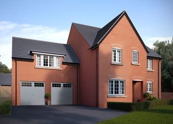 "Thumbnail 5 bed detached house for sale in ""The Regent"" at Bedford Road, Great Barford, Bedford"