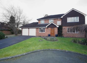 Thumbnail 4 bedroom detached house for sale in Middle Mead, Hook