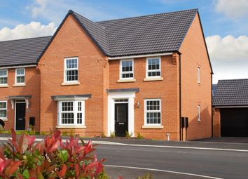 "Thumbnail 4 bed detached house for sale in ""Holden"" at Wright Close, Whetstone, Leicester"