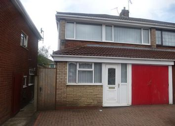 Thumbnail 3 bed semi-detached house to rent in Spring Parklands, Dudley