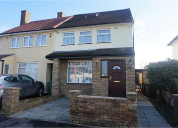 Thumbnail 4 bedroom semi-detached house for sale in Rossington Avenue, Borehamwood