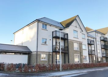 Thumbnail 2 bed flat for sale in Crown Crescent, Larbert