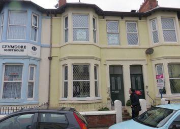 Thumbnail 1 bedroom maisonette to rent in Moore Street, Blackpool