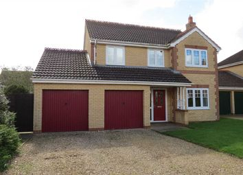 Thumbnail 4 bed detached house to rent in Stokes Drive, Sleaford