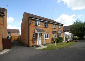 Thumbnail 3 bed semi-detached house to rent in Marion Close, Leicester