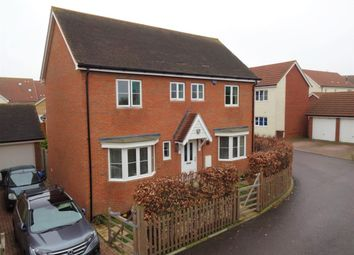 Thumbnail 4 bed detached house to rent in The Fields, Hoo, Rochester