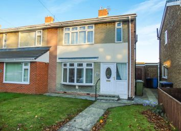 Thumbnail 2 bedroom semi-detached house for sale in Charters Crescent, South Hetton, Durham