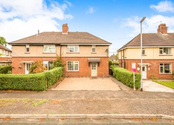Thumbnail 3 bed semi-detached house for sale in Argles Road, Leek