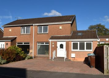 Thumbnail 3 bedroom semi-detached house for sale in Kingsley Court, Uddingston, Glasgow