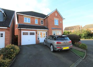 Thumbnail 4 bed detached house for sale in Alderson Drive, Stretton, Burton-On-Trent