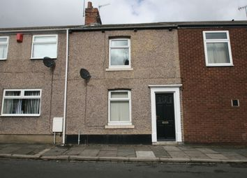 Thumbnail 2 bed terraced house to rent in Hutton Terrace, Willington, Crook