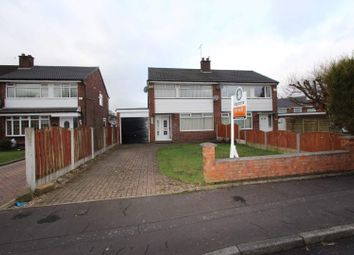 Thumbnail 3 bed semi-detached house for sale in Ashley Close, Sudden, Rochdale