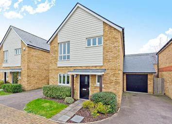 Thumbnail 3 bed detached house for sale in Hazel Close, Epsom