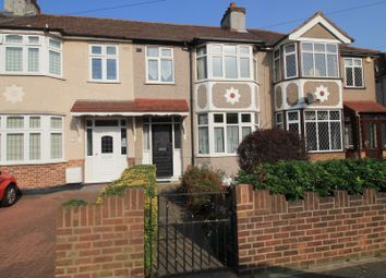 Thumbnail 3 bed terraced house to rent in Belgrave Avenue, Gidea Park, Essex