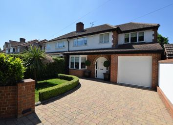 Thumbnail 4 bed semi-detached house for sale in Farley Road, South Croydon