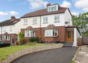 Thumbnail 4 bed semi-detached house for sale in Warren Road, Banstead