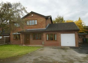 Thumbnail 4 bed detached house for sale in Grange Court, Cross Lanes, Wrexham