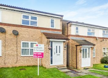 Thumbnail 3 bedroom semi-detached house for sale in Hawks Way, Sleaford
