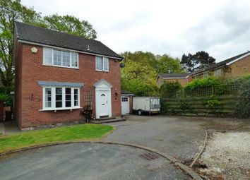 Thumbnail 3 bed detached house for sale in Derwent Close, Alsager, Cheshire