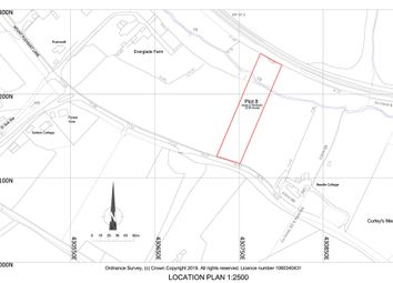 Land for sale in Mount Pleasant Lane, Lymington, Hampshire SO41