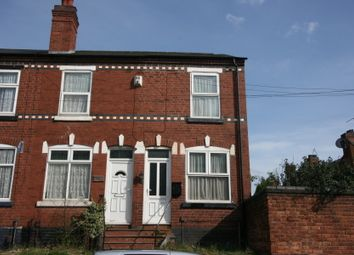 Thumbnail 2 bedroom end terrace house for sale in Pargeter Street, Walsall